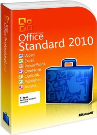 Купить ключ для активации Microsoft office 2010 Standard.