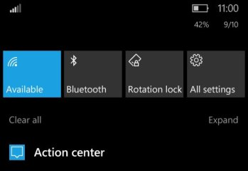 Windows 10 Mobile Redstone 2